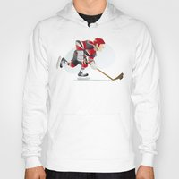 hockey Hoodies featuring Hockey by Dues Creatius