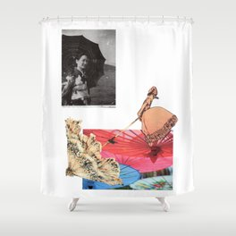Care your skin Shower Curtain