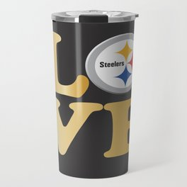 Pittsburgh Steelers_Love Travel Mug