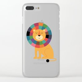 Mr. Confidence Clear iPhone Case