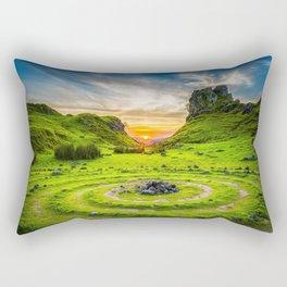 Fairytale Landscape, Isle of Skye, Scotland Rectangular Pillow