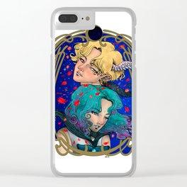 Haruka and Michiru - Sailor Moon Fanart - Sailor Uranus and Sailor Neptune Clear iPhone Case
