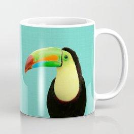 Toucan Bird - Blue Coffee Mug