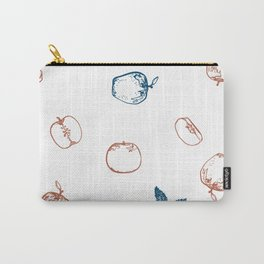 Blue & Blush assorted apples Carry-All Pouch