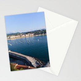 La Concha Bay. Donostia-San Sebastian, Spain. Stationery Cards