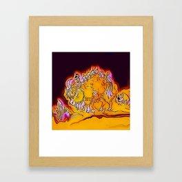 Buffalos Framed Art Print