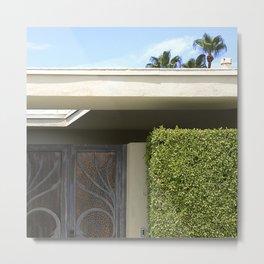 Cool, Clean Lines Architecture Design Metal Print