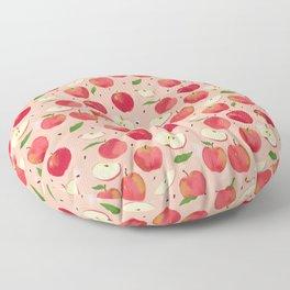 apple picking Floor Pillow