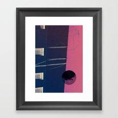 upside world Framed Art Print