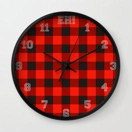 Canadiana Wall Clock