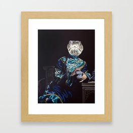 Chinese Zodiac - The Snake Framed Art Print