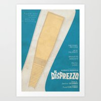 godard Art Prints featuring Il Disprezzo (Contempt) Jean-Luc Godard Movie Poster by Stefanoreves