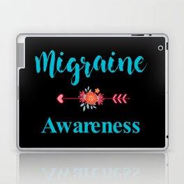 Migraine Headache Pain Awareness Laptop & iPad Skin