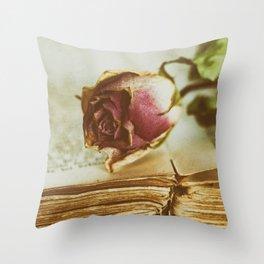 Timeworn Beauty 3 Throw Pillow