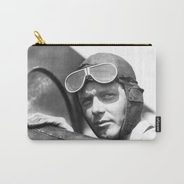 Charles Lindbergh - © Doc Braham; All Rights Reserved. Carry-All Pouch