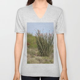 Jacobs Ladder Coachella Valley Wildlife Preserve Unisex V-Neck