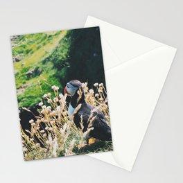 Puffin On Staffa Island Stationery Cards
