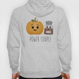 Pumpkin + Spice = Power Couple Hoody