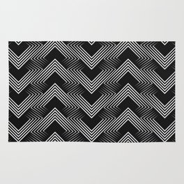 Art Deco . Mountains . Rug