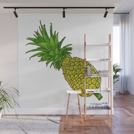 Pi the pineapple Wall Mural