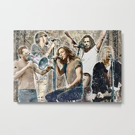 Grunge Kings 3 Metal Print