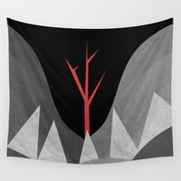 scary Wall Tapestries featuring Scary Night by Creative Brainiacs