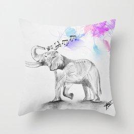 EleTune Throw Pillow