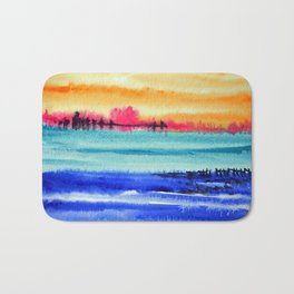 Sunset beauty Bath Mat