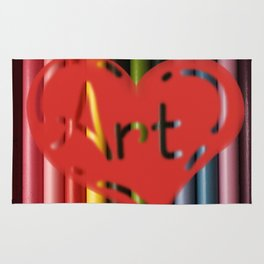 I love Art! Rug