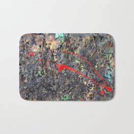 Hamlet Inspired Mixed Media Bath Mat