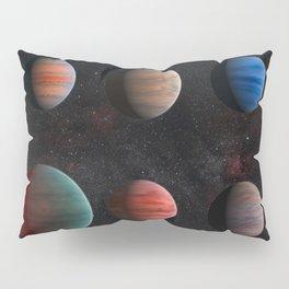 Planets : Hot Jupiter Exoplanets Pillow Sham