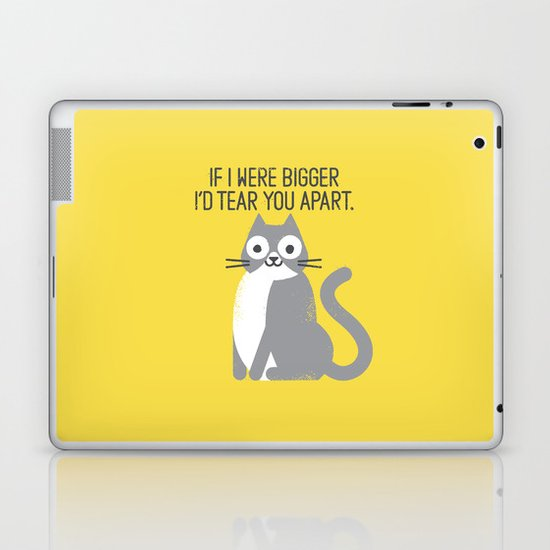 Purrfectly Honest Laptop & iPad Skin
