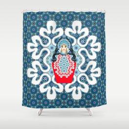 Little Matryoshka Shower Curtain