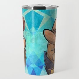 Breaking Fred - Fred vs Barney Travel Mug