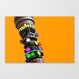 Telecom Tower Canvas Print