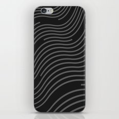 Organic Stripes #03: Monochrome version iPhone & iPod Skin