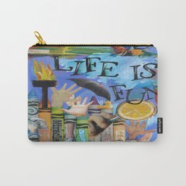 Fun by Seattle Artist Mary Klump Carry-All Pouch
