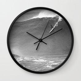 Mavericks Condition Black Wall Clock