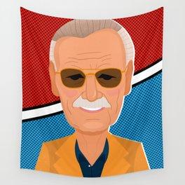 Stan Lee Wall Tapestry