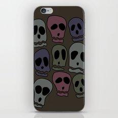 Skulls-2 iPhone & iPod Skin