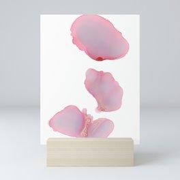 Pink Petals Abstract Mini Art Print
