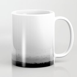 The Old City - Black and White Coffee Mug