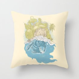 Singapura Throw Pillow
