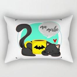 Ma Moitie (Jane + Maximoff) Rectangular Pillow