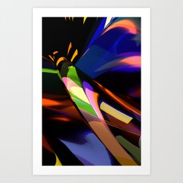 Abstract Six Art Print