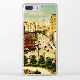 Oh Detroit II Clear iPhone Case