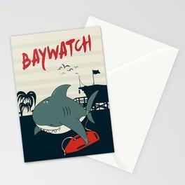 Baywatch  Stationery Cards
