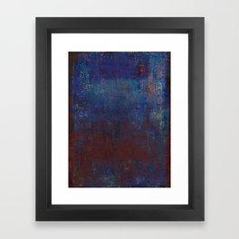 Isaz - Runes Series Framed Art Print