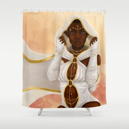 Hooded Shower Curtain