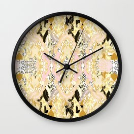 Name In Lights Wall Clock